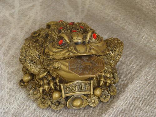 Заговор на денежную жабу