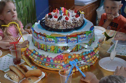 Торт детский на день рождения своими руками фото