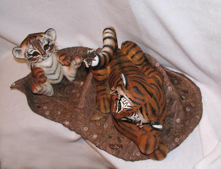 Сделать своими рукам тигра 93